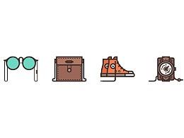 Illustrator中创建时尚配件图标
