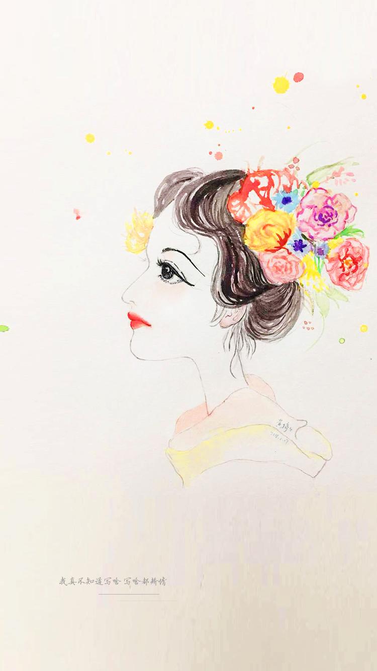手绘水彩|插画|插画习作|了乌鹿 - 原创作品 - 站酷