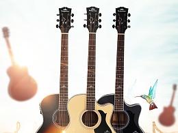 吉他 乐器详情页