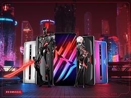 努比亚×腾讯游戏   红魔6 赛博朋克宣传片