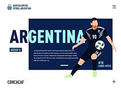 世界杯部分球队插画