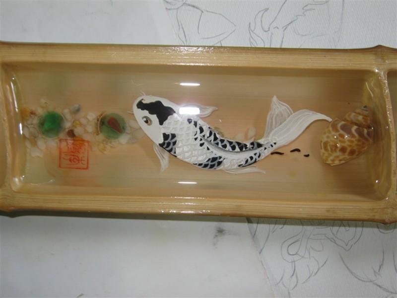 原创作品:3d立体鱼