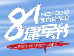节日系列—81建军节