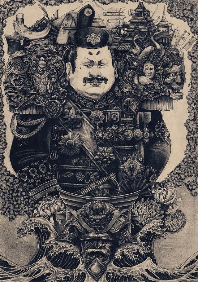 铅笔手绘 扑克帝国