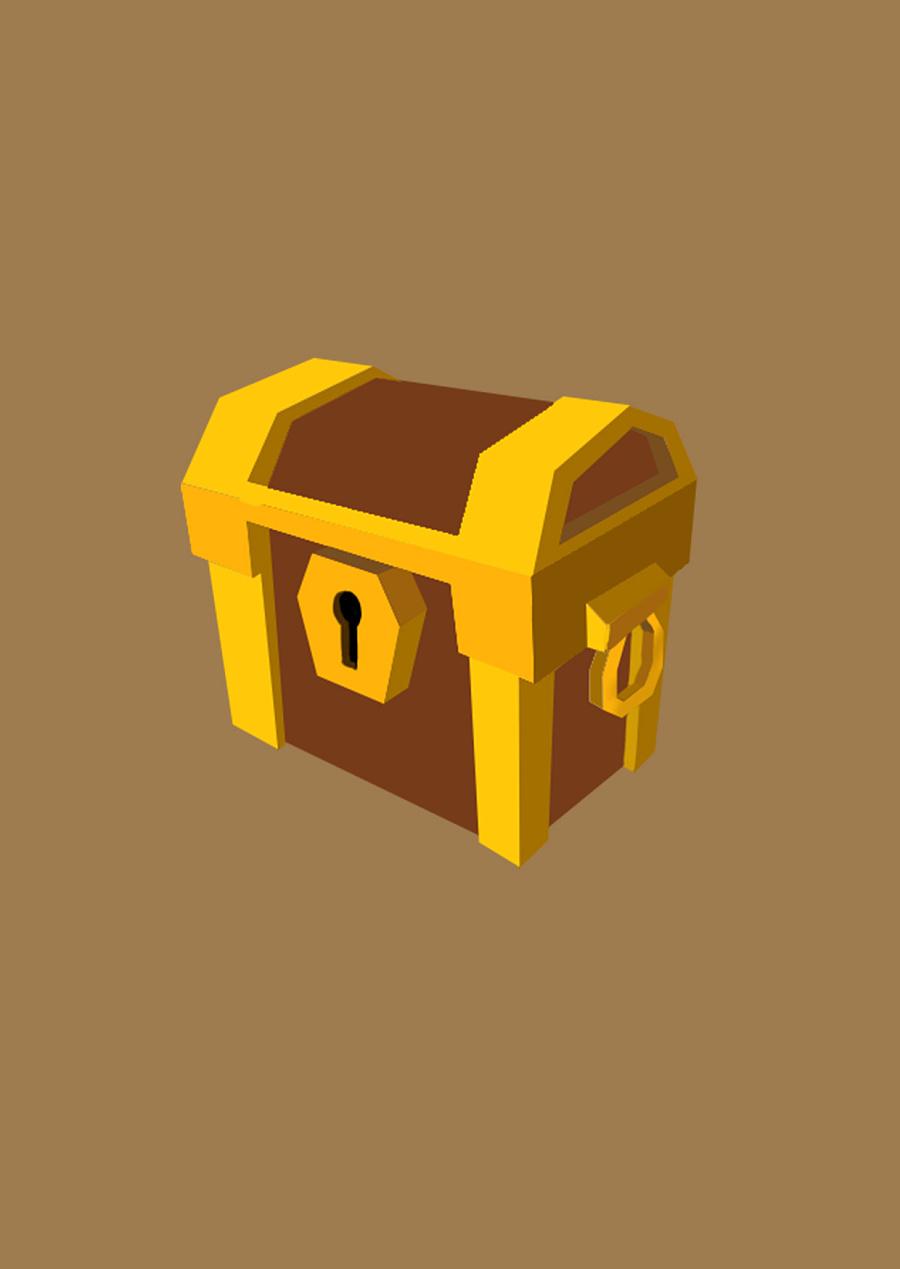 原创作品:宝箱图标一枚图片