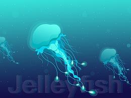 一只惊艳的Jellyfish