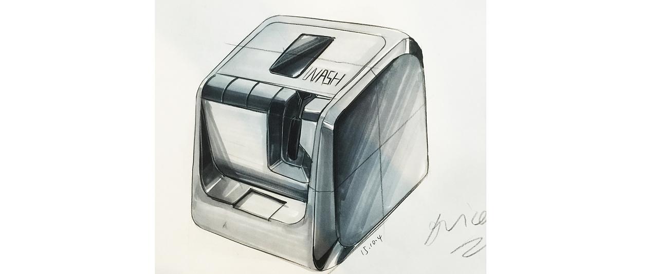 产品设计手绘手稿-马克笔表达图片