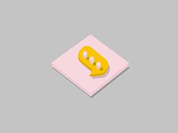 Dribbble_模拟练习3