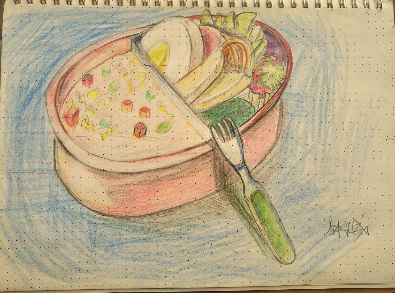 手绘物品图片简单