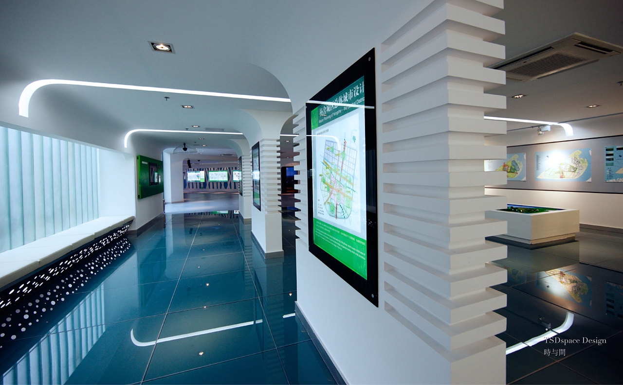 张家港市城市展示馆|空间|室内设计|时与间品牌设计图片