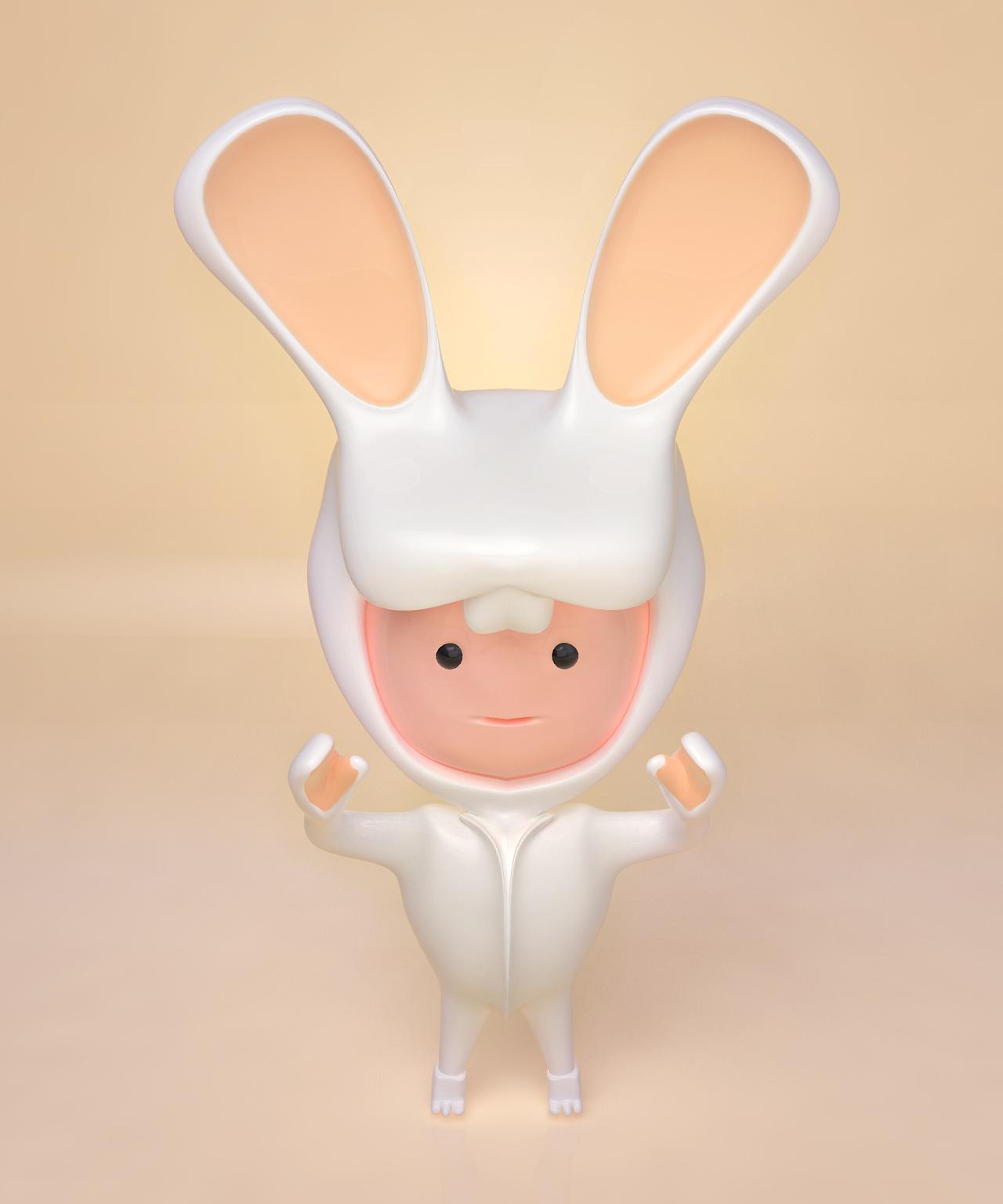拟人化 小兔人