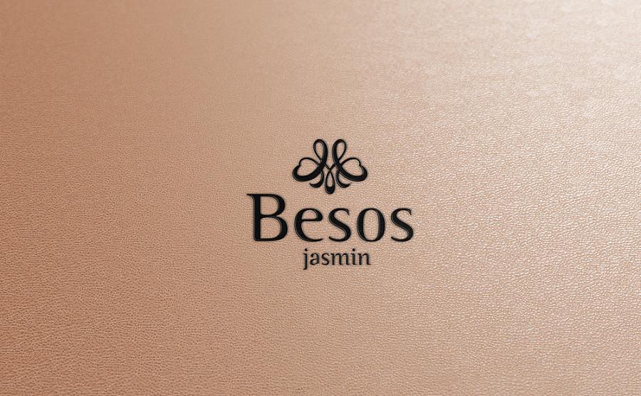 幔口红(besos)品牌logo设计图片