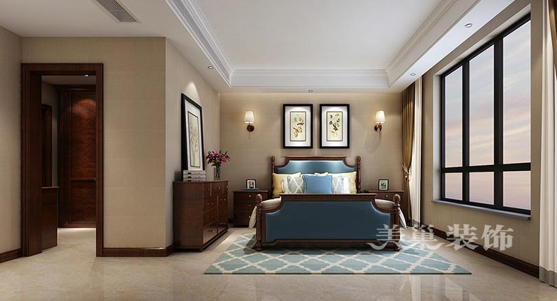 户型旺世150平方四室两厅两卫趋势美式普罗装平面设计就业发展风格图片