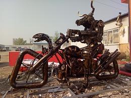 牛魔王 铁艺雕塑重金属朋克风