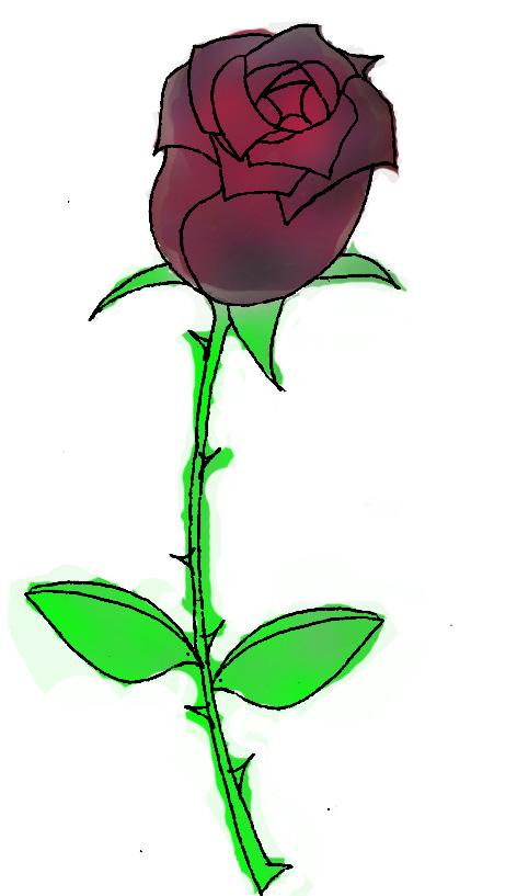 玫瑰花创意设计图片