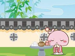 蘑菇点点|中国华服日