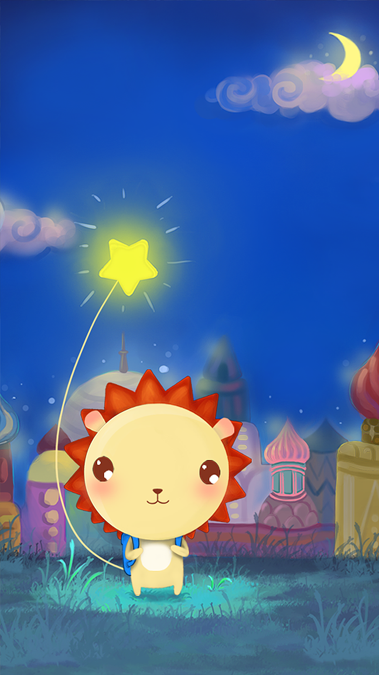 小狮子leo手绘插画