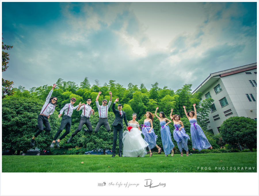 青蛙婚礼跟拍-浙江宾馆的你们|人像|摄影|绝口