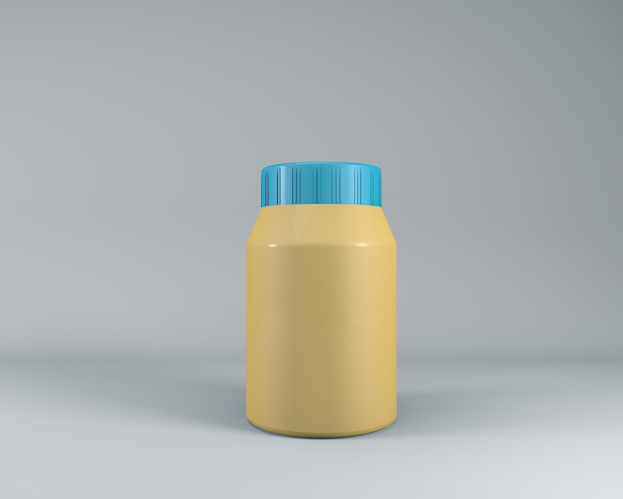 瓶子做飞机模型