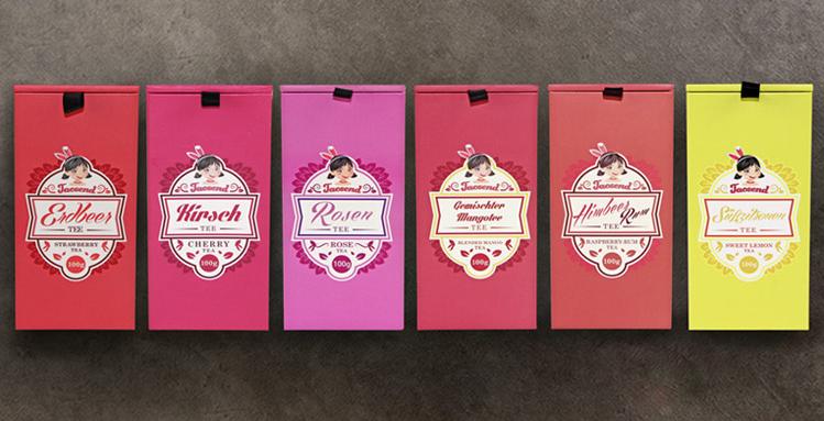 电子商务花果茶产品包装设计(鉴赏)|包装|平面|huoba