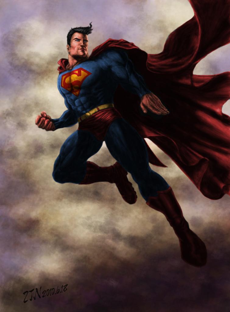原创作品:超人