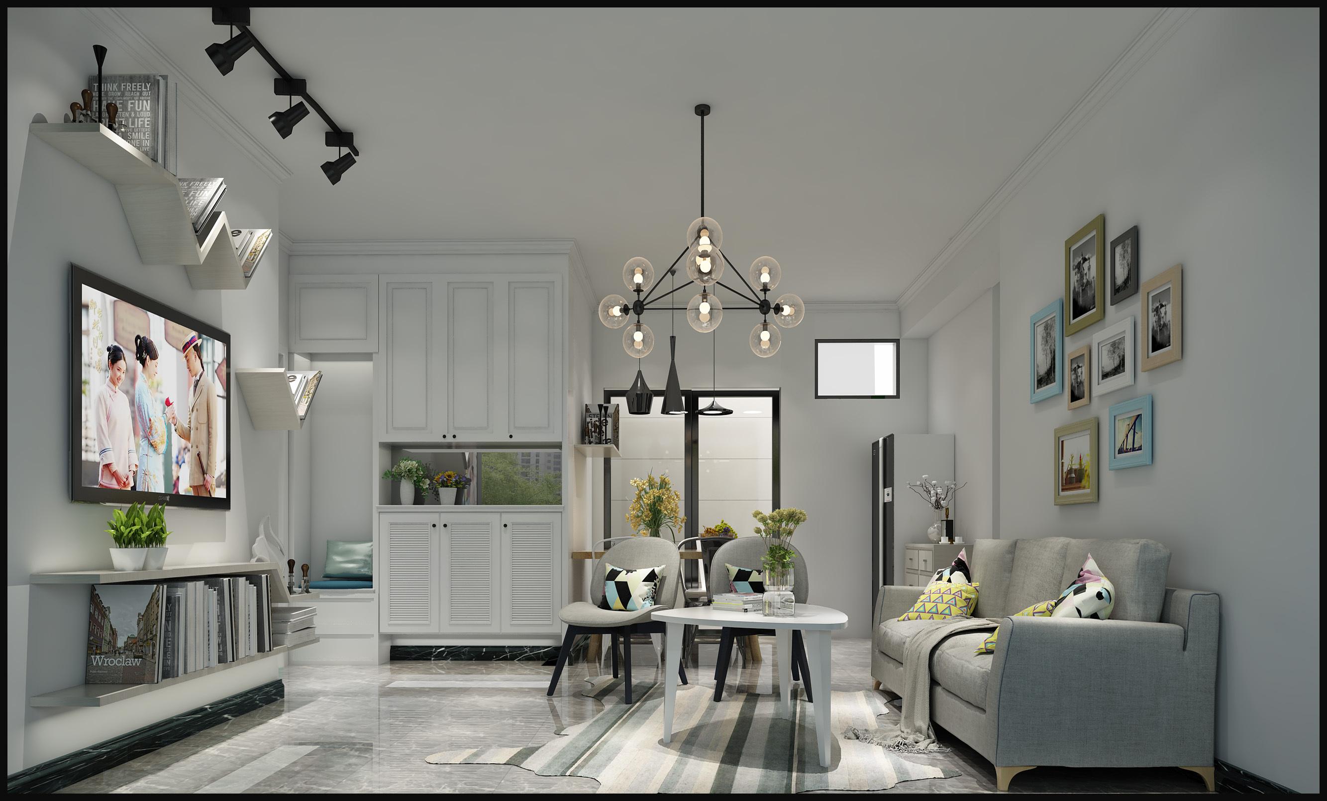 北欧风格|空间|室内设计|热爱家居 - 原创作品 - 站酷