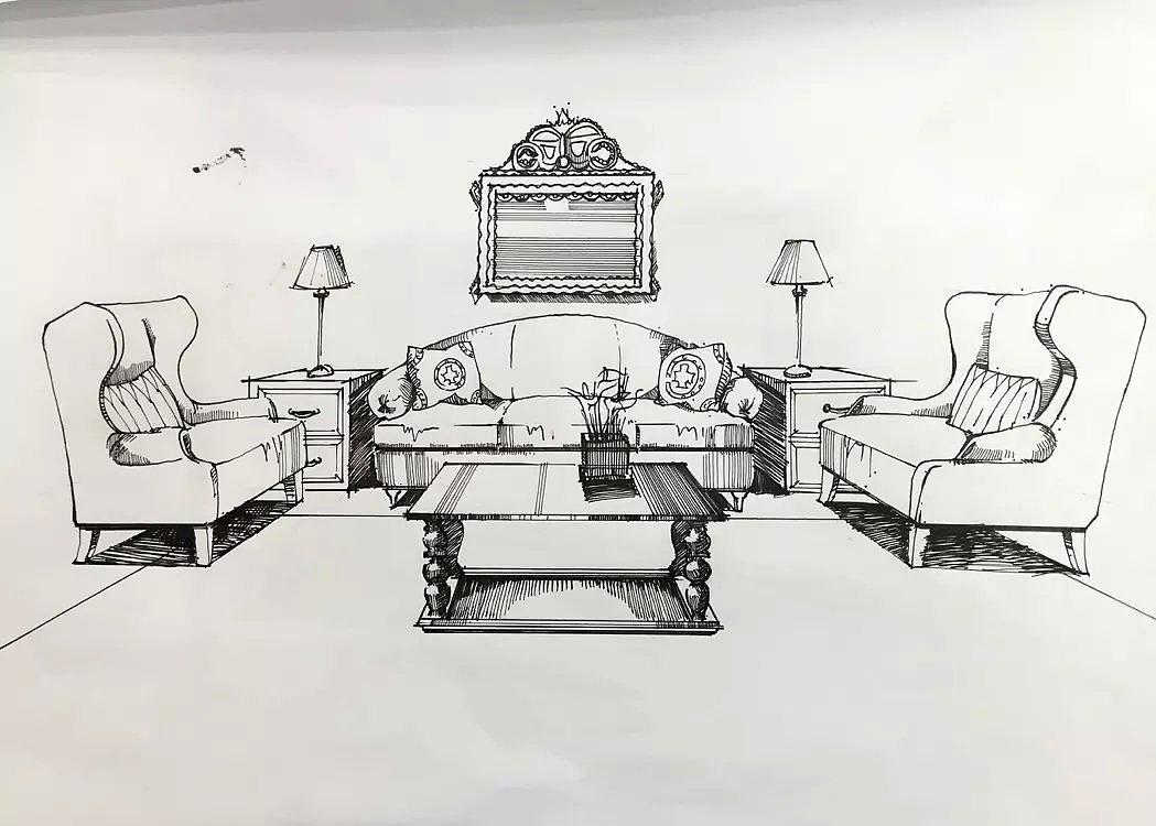 居住空间室内设计图展示