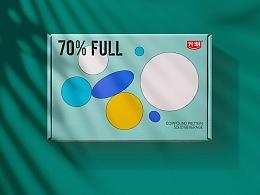 70% FULL 七分饱包装设计