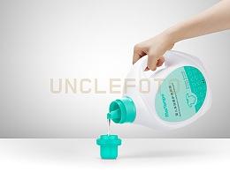 平面案例 | 婴儿多效柔护洗衣液 & UNCLEFOTO