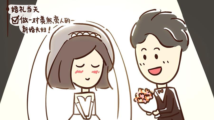 查看《手绘逐帧可爱动画《一分钟get结婚流程》》原图,原图尺寸:1570x884