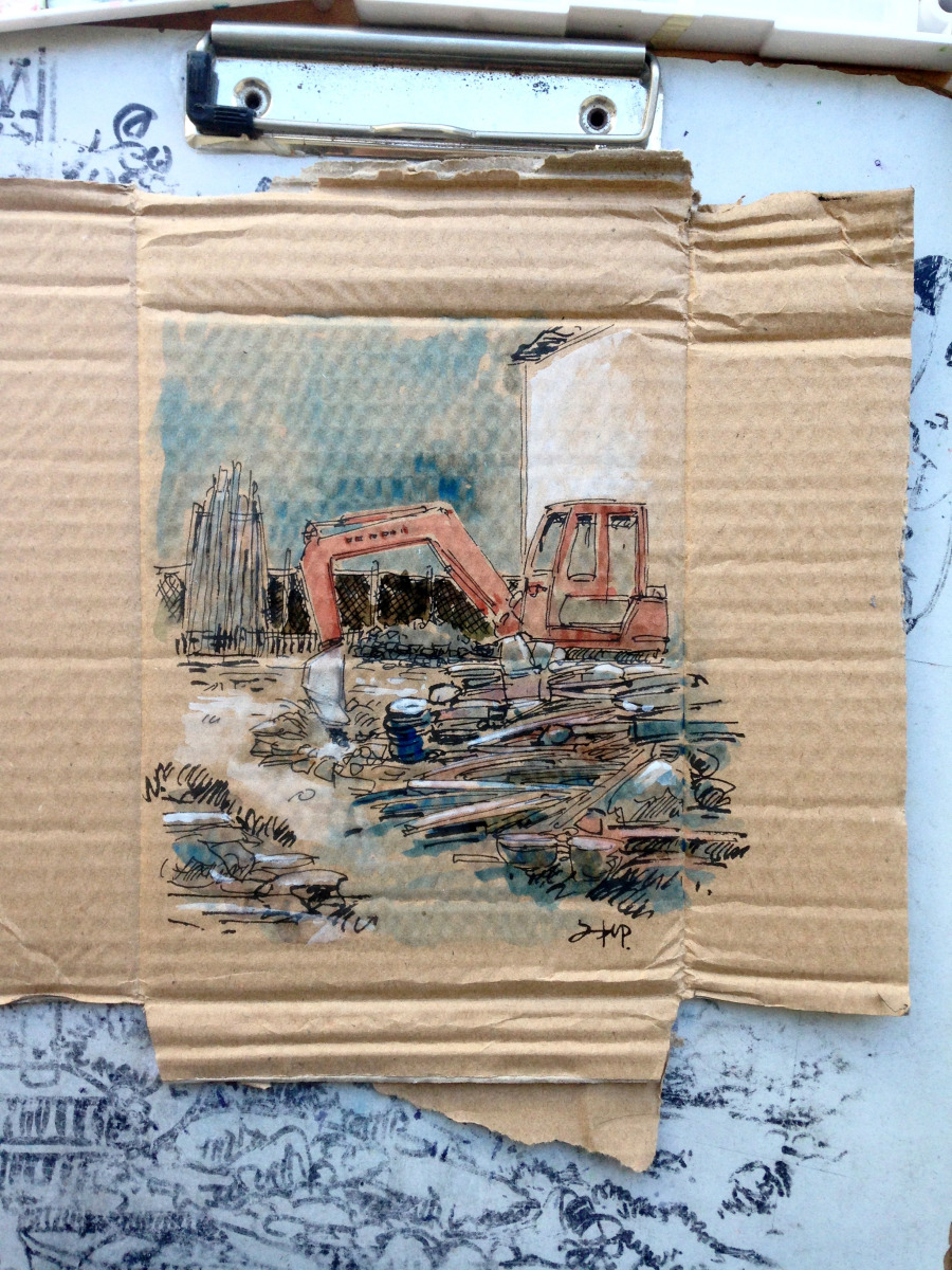 查看《捡捡垃圾,画点小画》原图,原图尺寸:2448x3264