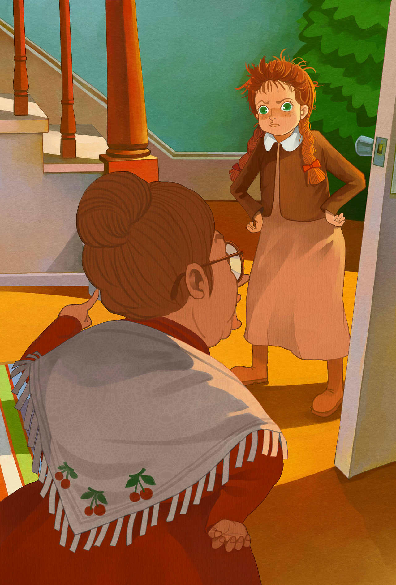 绿山墙的安妮 Anne of Green Gables 系列插图全