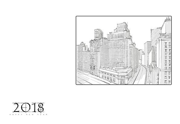 建筑-台历|平面|宣传品|千花之树 - 原创作品 - 站酷