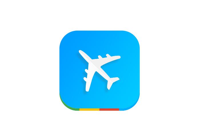 扁平小飞机图标|图标|gui|xichenle