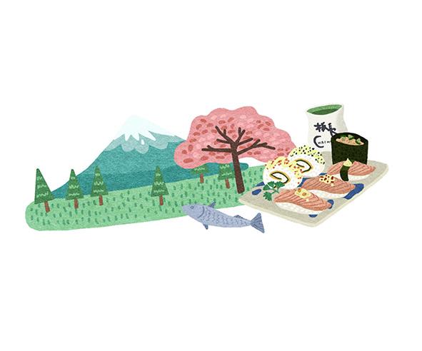 深圳世纪汇手绘美食地图
