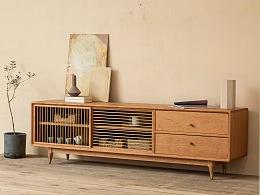 空白电视柜/撑起客厅空间的基础格调