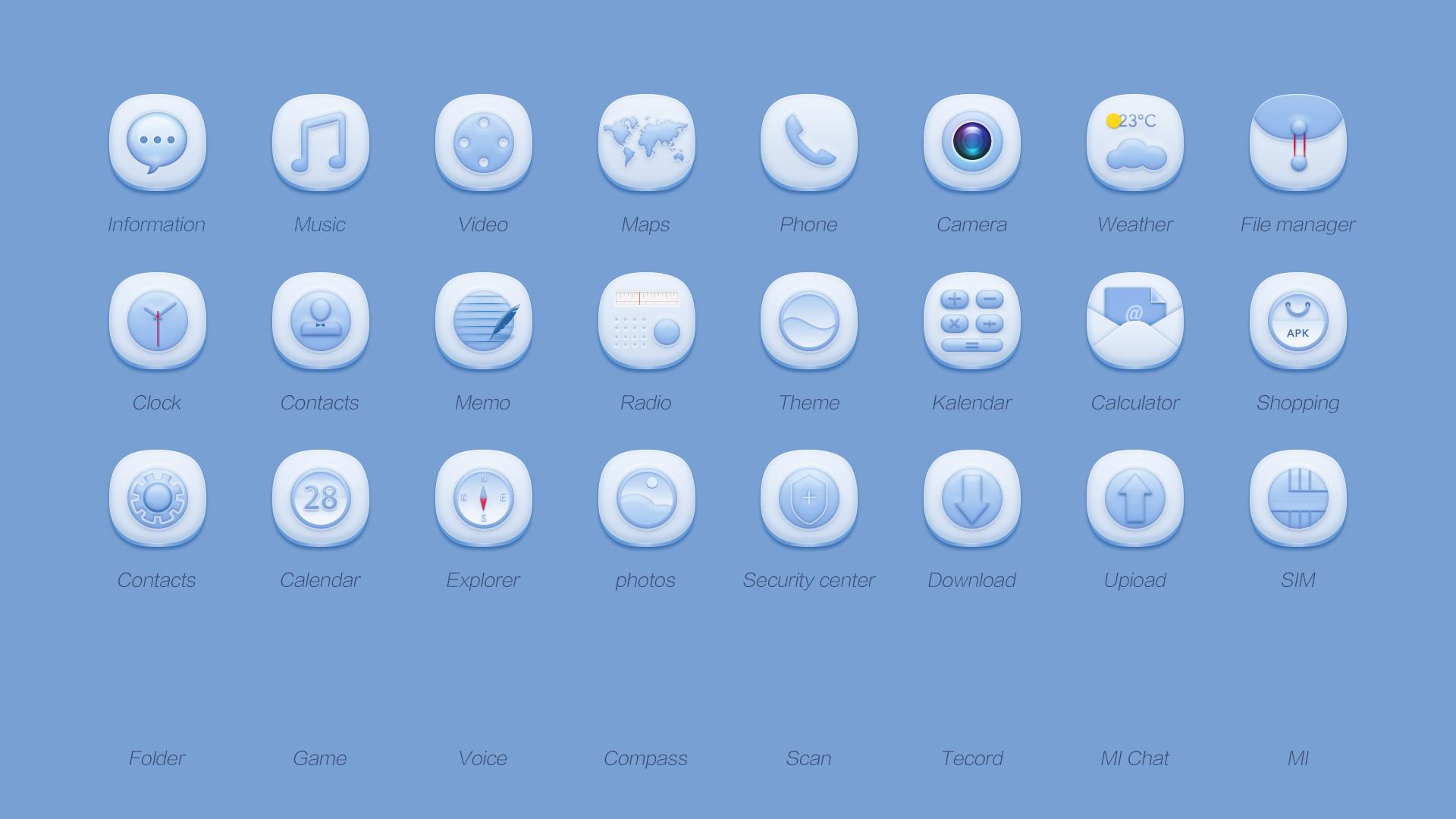 手机图标|ui|图标|圆圆群 - 原创作品 - 站酷 (zcool)