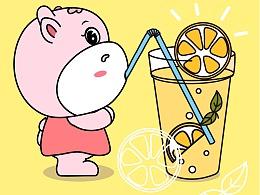 动物大联盟夏日清凉壁纸系列五(1)