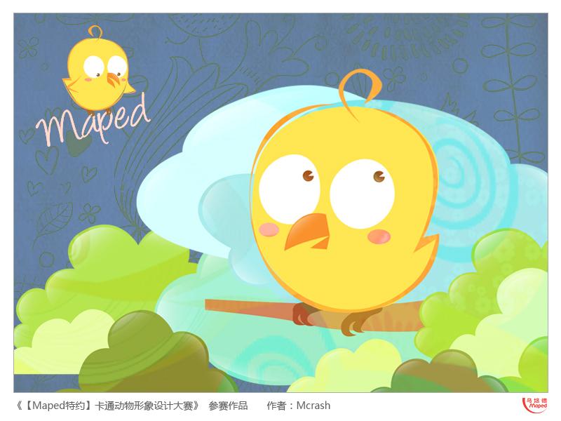 想画个小鸟,可爱自在~~     图片