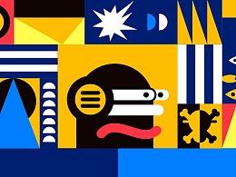 两组图形创意品牌延展