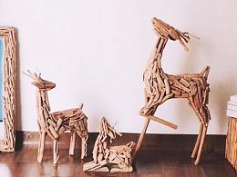 傲娇的小鹿。