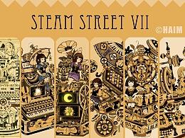 蒸汽朋克插画集7蒸汽街的秘密