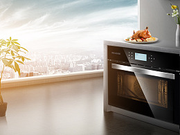 美菱-嵌入式/台式蒸烤箱/大家电器类电商设计