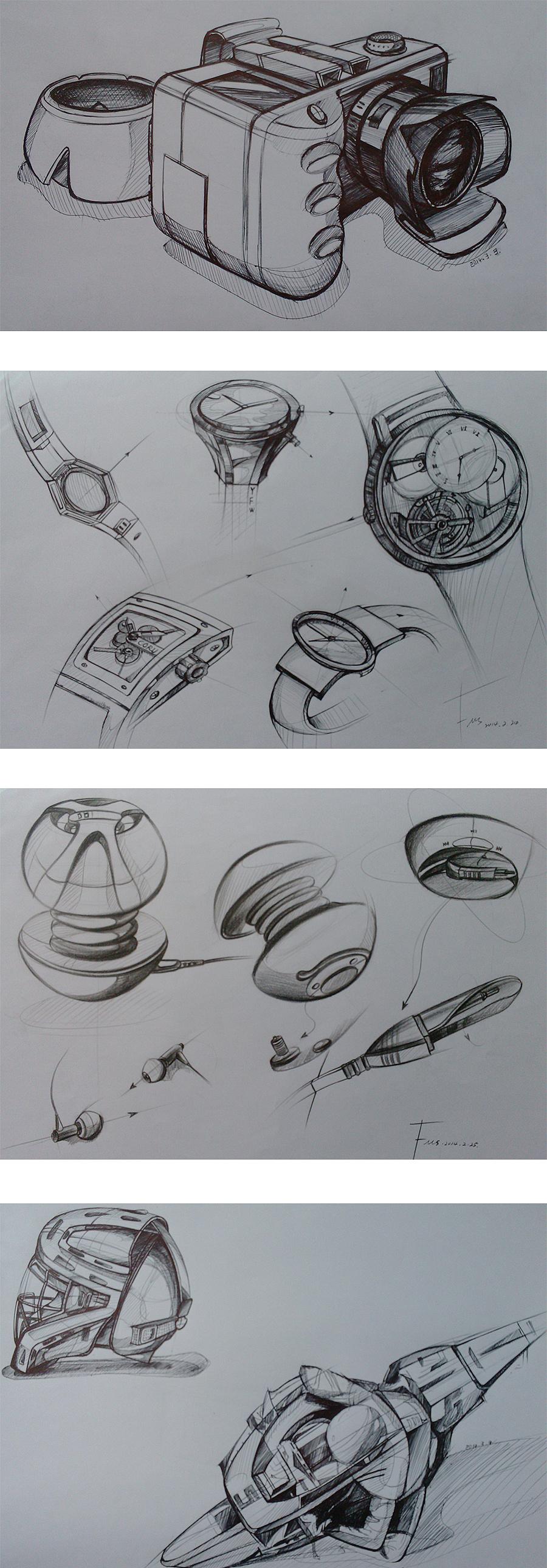 工业设计手绘|工业/产品|其他工业/产品|付小思
