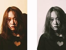 创意摄影影集的创作——《 黑白画映》