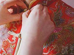 锦里夫人旗袍中国风LOGO设计及设计思路