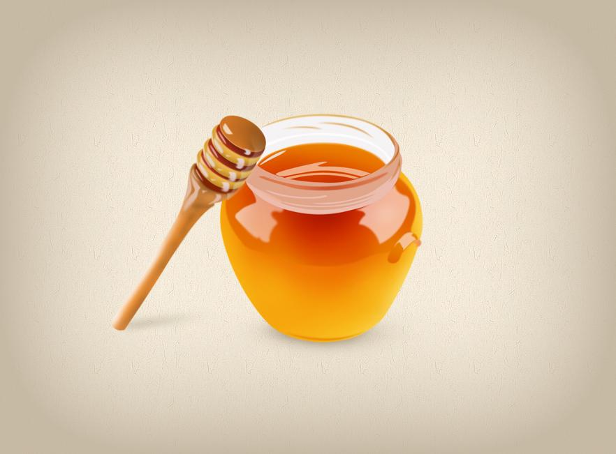 习作一个蜂蜜罐子