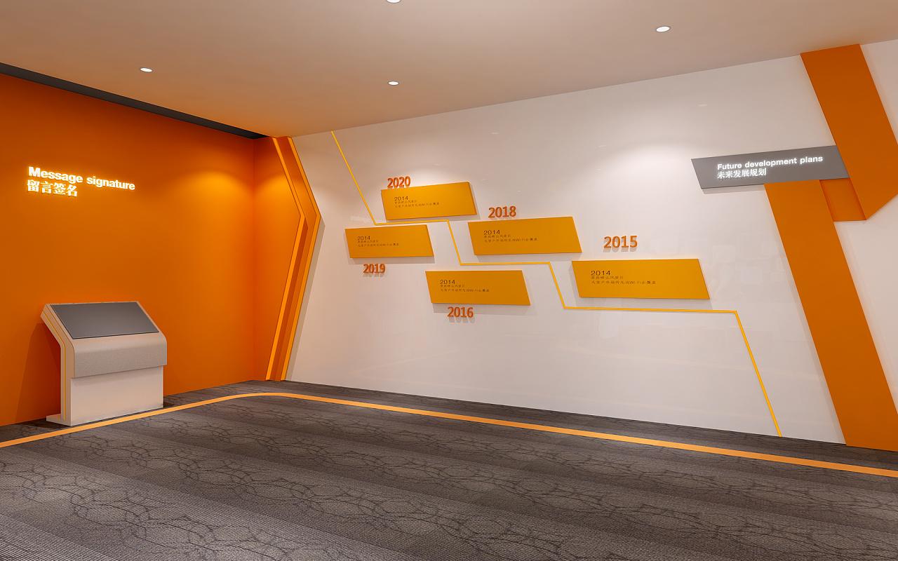 展厅设计/百米生活-智慧城市展厅图片