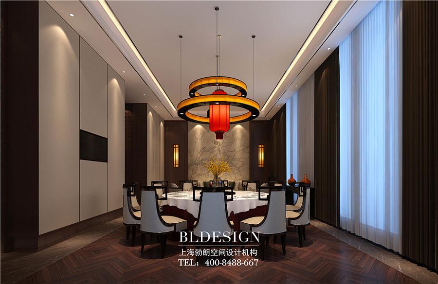 中餐厅设计-中式餐厅设计方案-新中式餐厅招聘中铁建房地产集团设计咨询有限公司设计图片