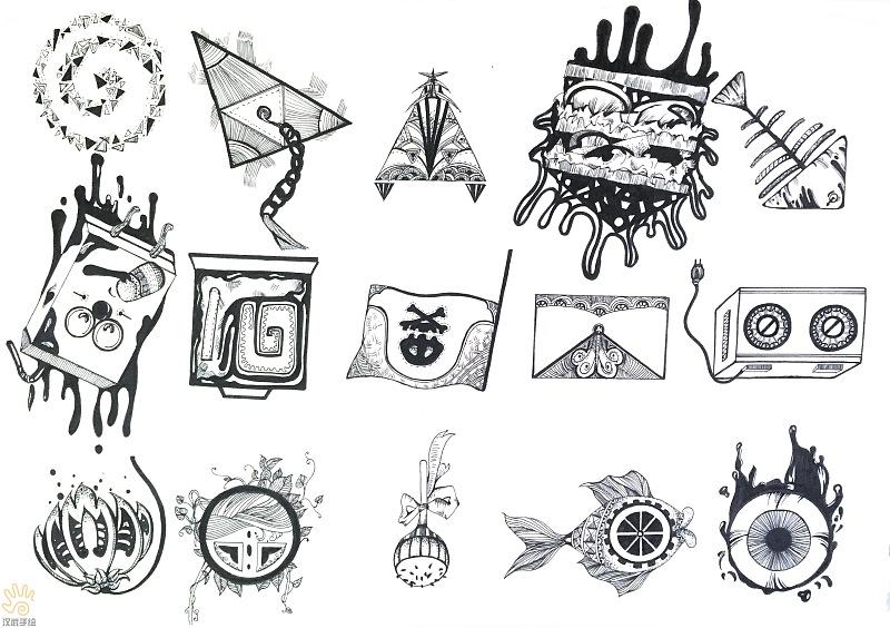 书籍:视觉传达设计考研手绘快题优秀作品(原创文章)